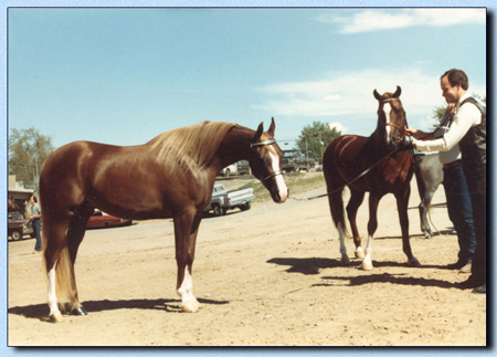 Haapey Pico and Haat Rhod at 1983 World Symposium 